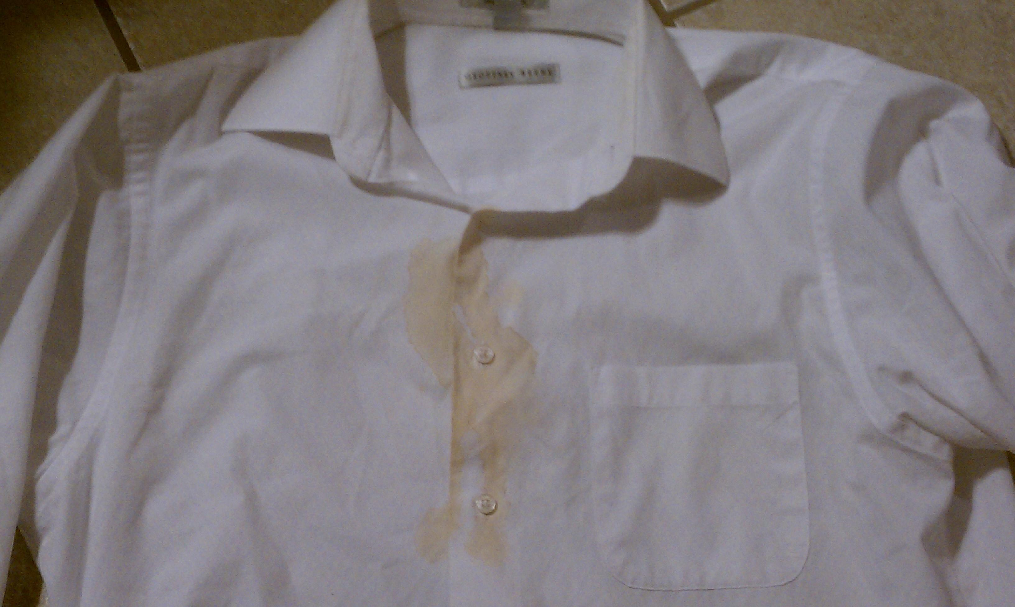 How to get coffee stains out of white shirt t shirt for How to get a coffee stain out of a shirt